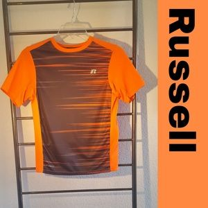 Russell Orange and Black dri-power T 👕